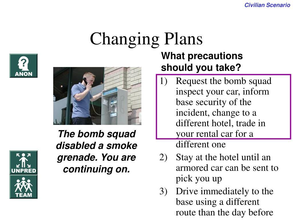 Civilian Scenario