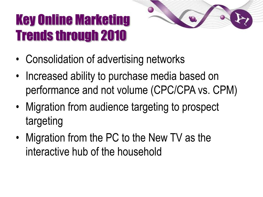 Key Online Marketing Trends through 2010