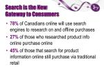 search is the new gateway to consumers