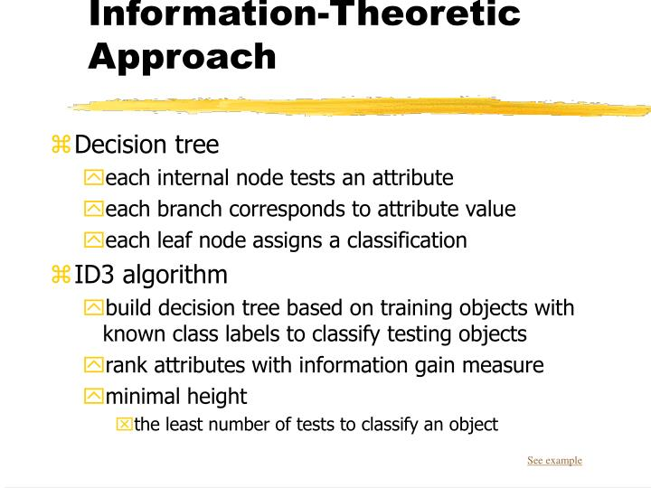 Information-Theoretic Approach