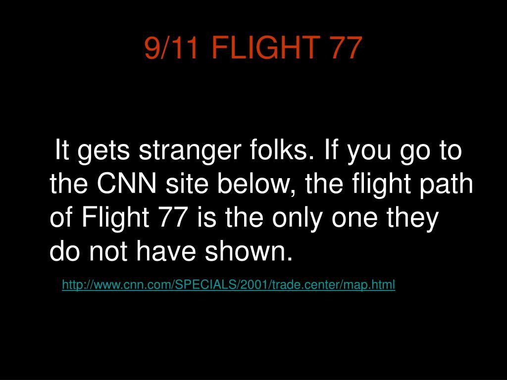 9/11 FLIGHT 77