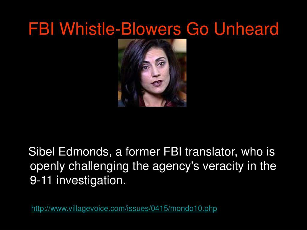 FBI Whistle-Blowers Go Unheard