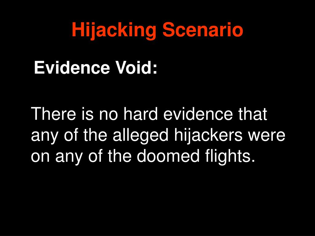 Hijacking Scenario