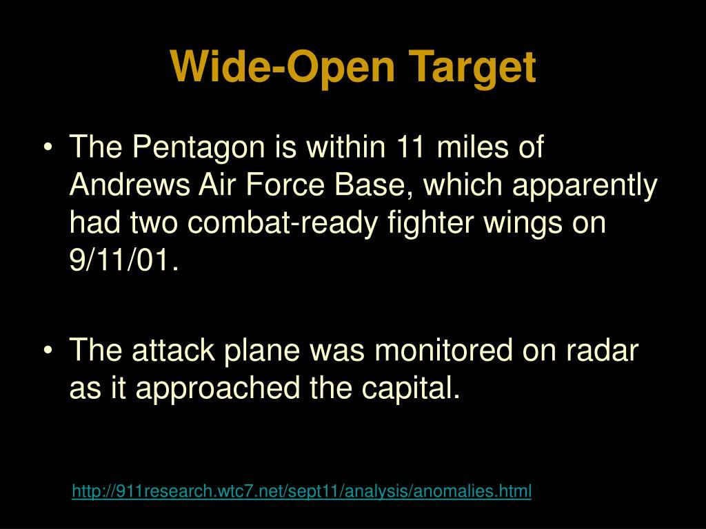 Wide-Open Target