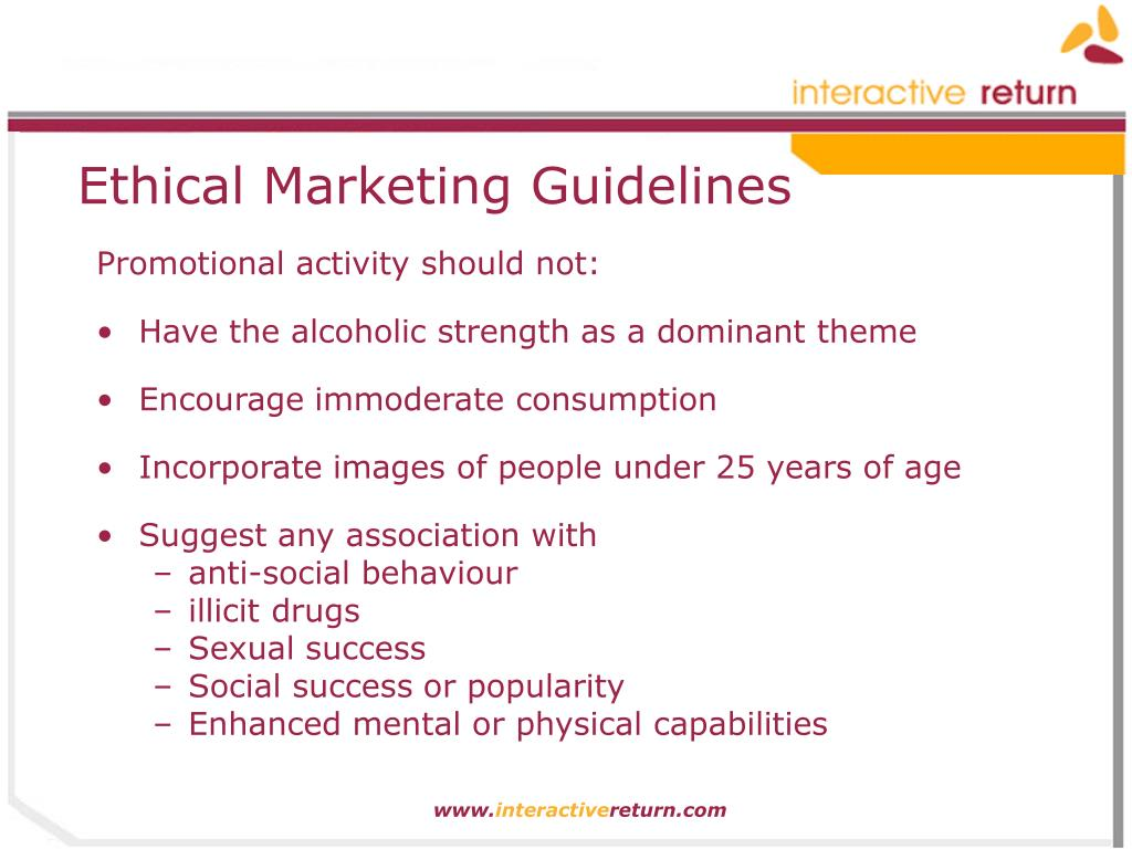 Ethical Marketing Guidelines
