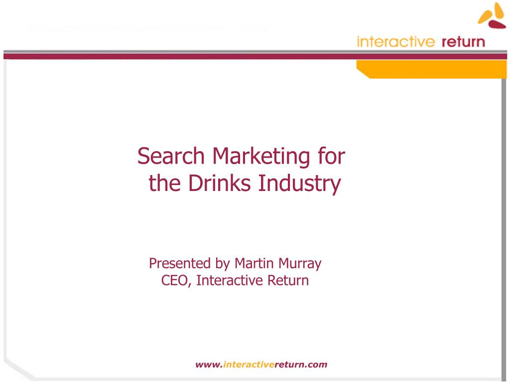 Search Marketing for