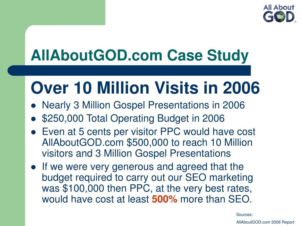 AllAboutGOD.com Case Study