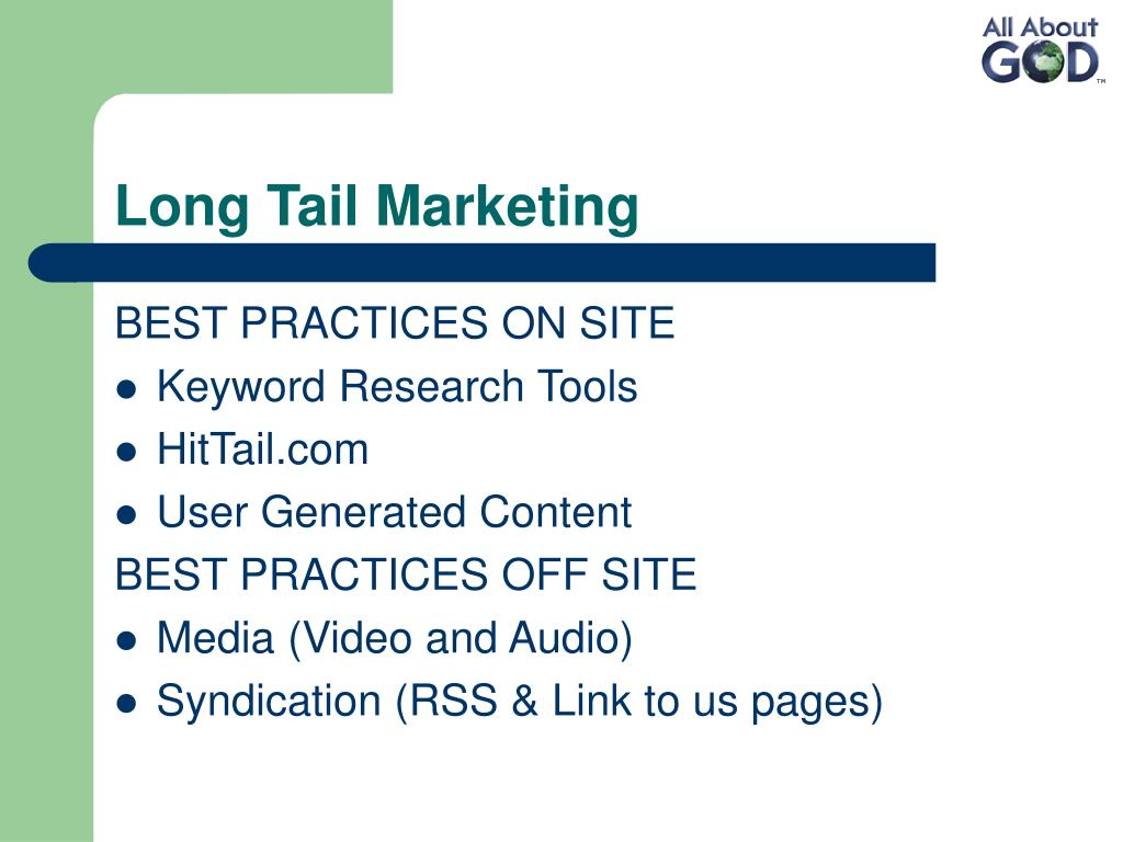 Long Tail Marketing