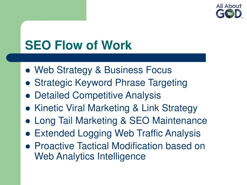 SEO Flow of Work