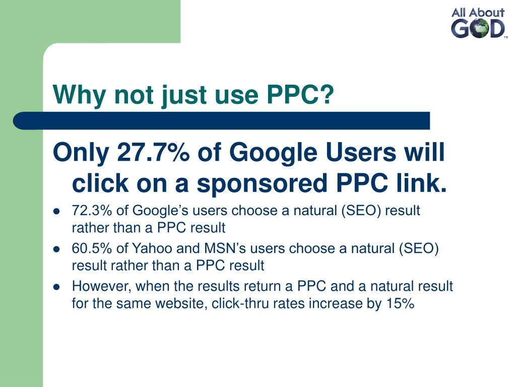Why not just use PPC?