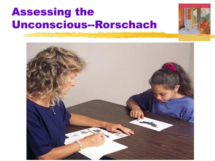 Assessing the Unconscious--Rorschach