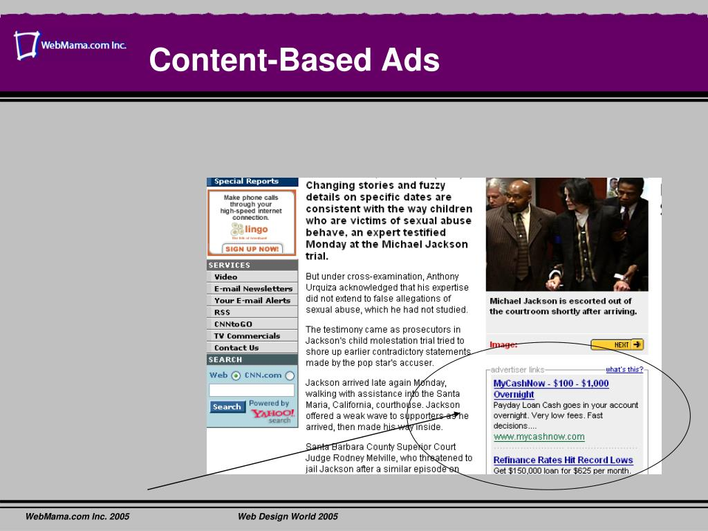 Content-Based Ads