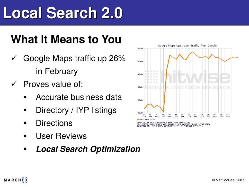 Local Search 2.0