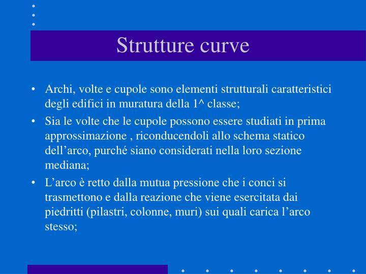 Strutture curve