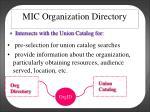 mic organization directory1