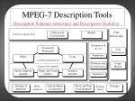 mpeg 7 description tools