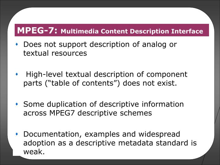 MPEG-7:
