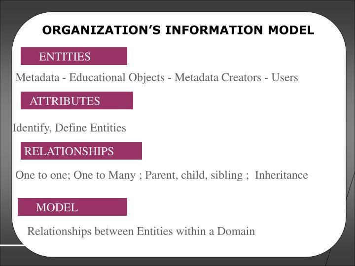 ORGANIZATION'S INFORMATION MODEL