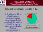 teacher quality teacher preparedness in america today1
