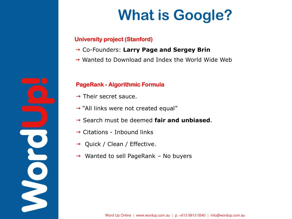 What is Google?