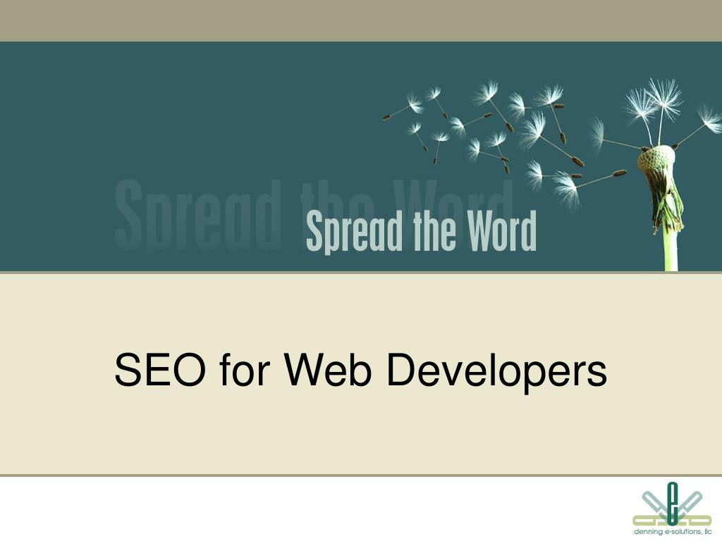 SEO for Web Developers