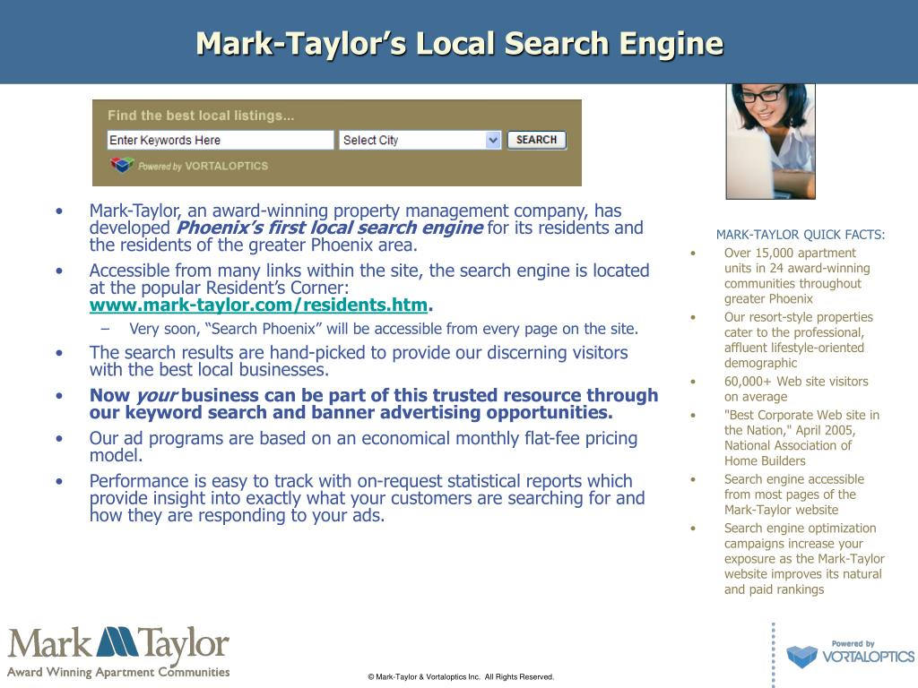 Mark-Taylor's Local Search Engine