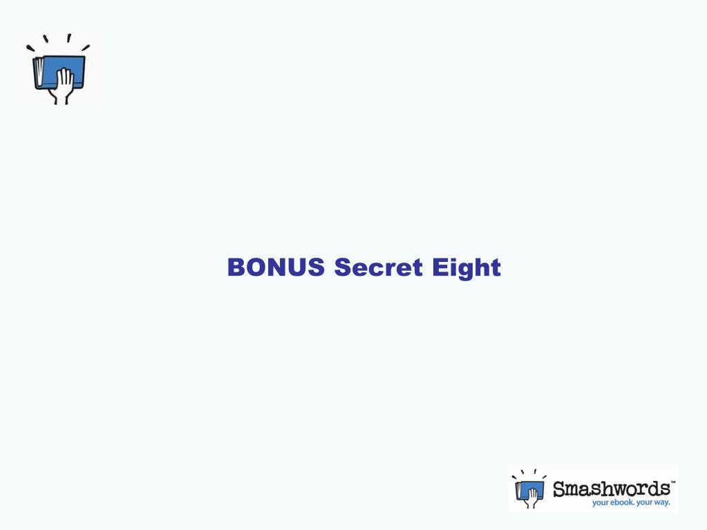 BONUS Secret Eight