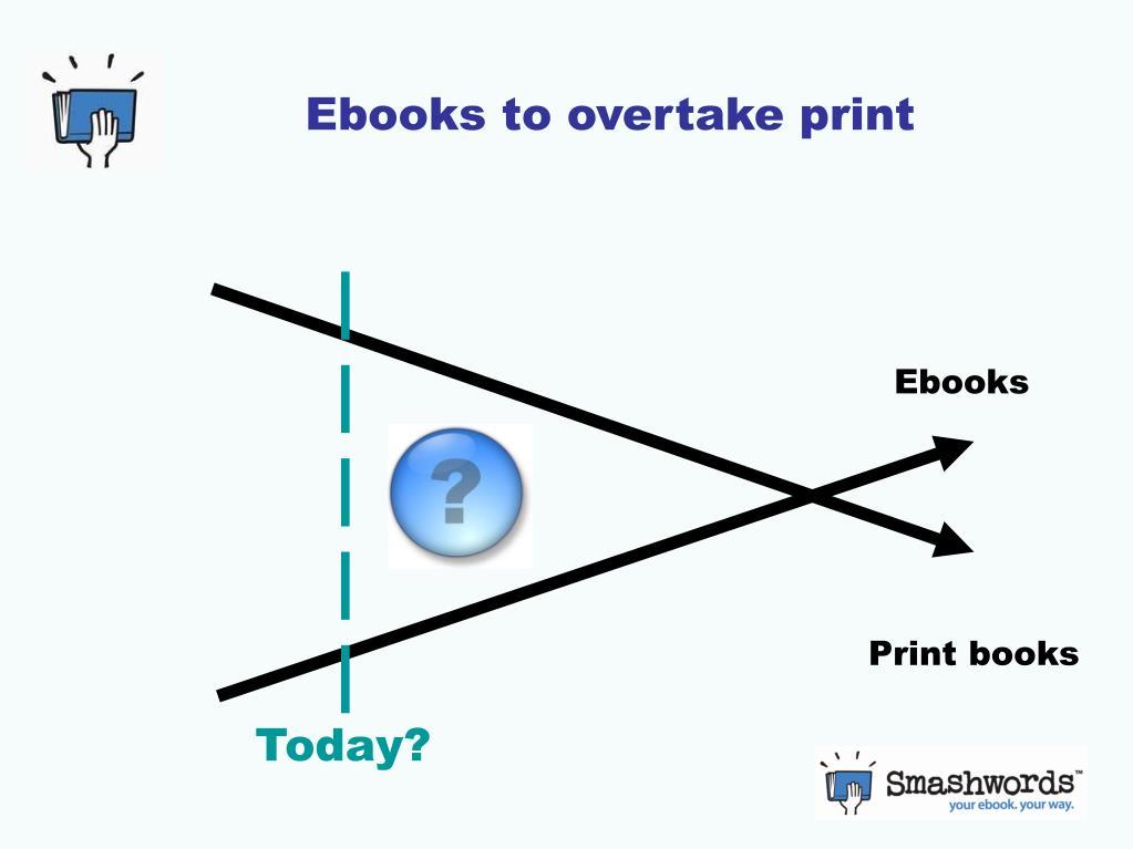Ebooks to overtake print