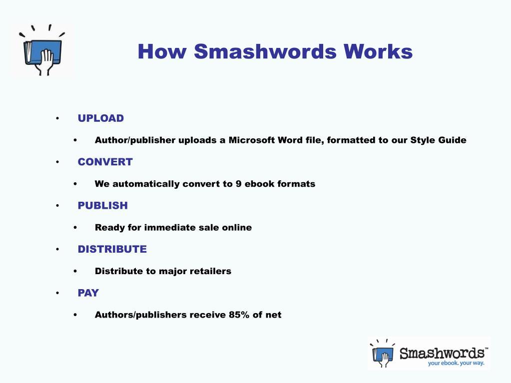 How Smashwords Works