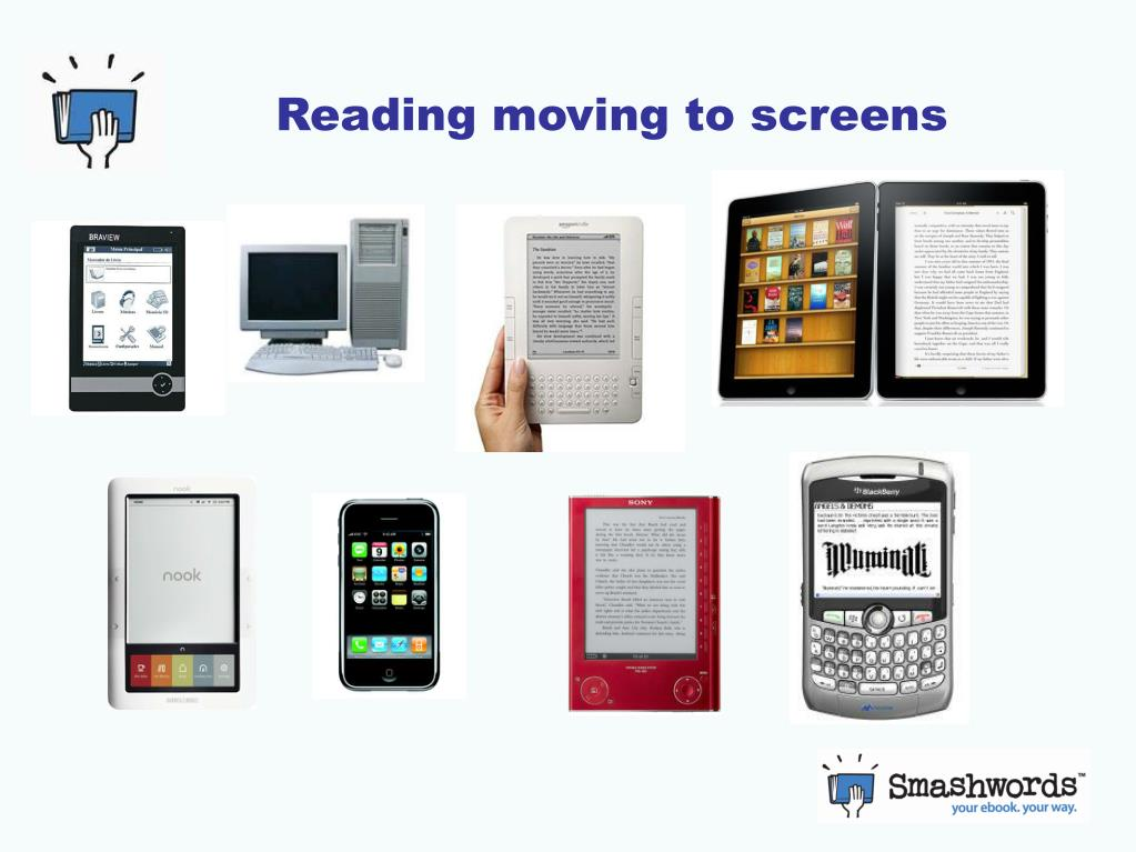 Reading moving to screens