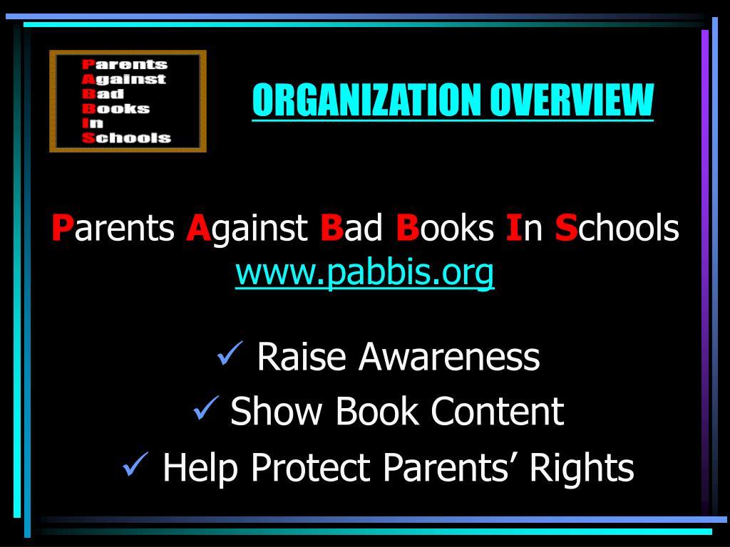p arents a gainst b ad b ooks i n s chools www pabbis org