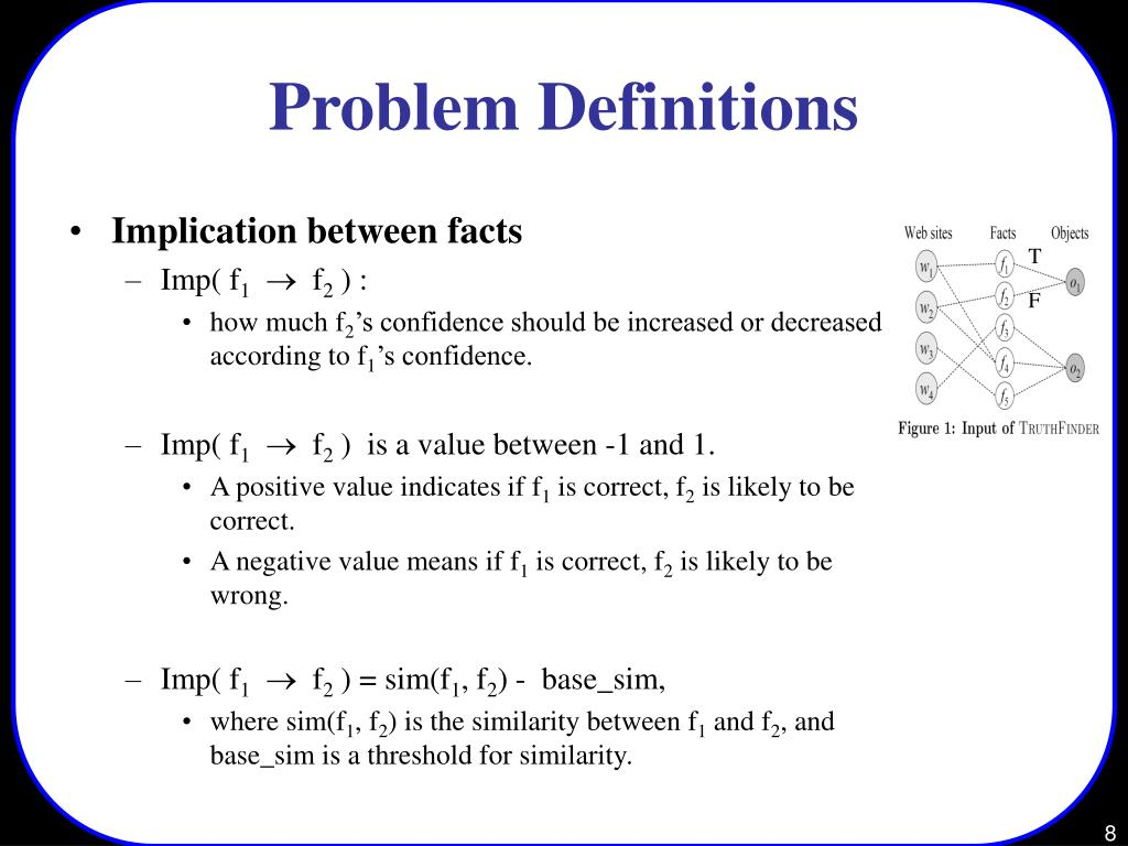 Problem Definitions