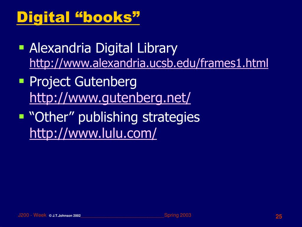 "Digital ""books"""