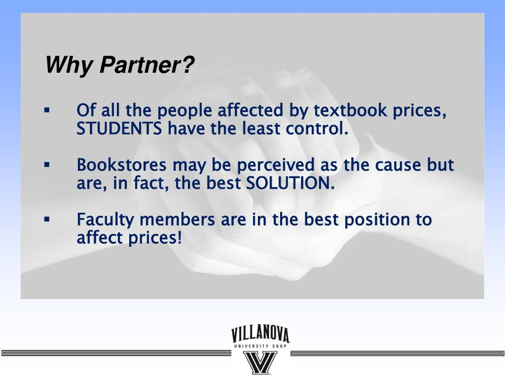 Why Partner?