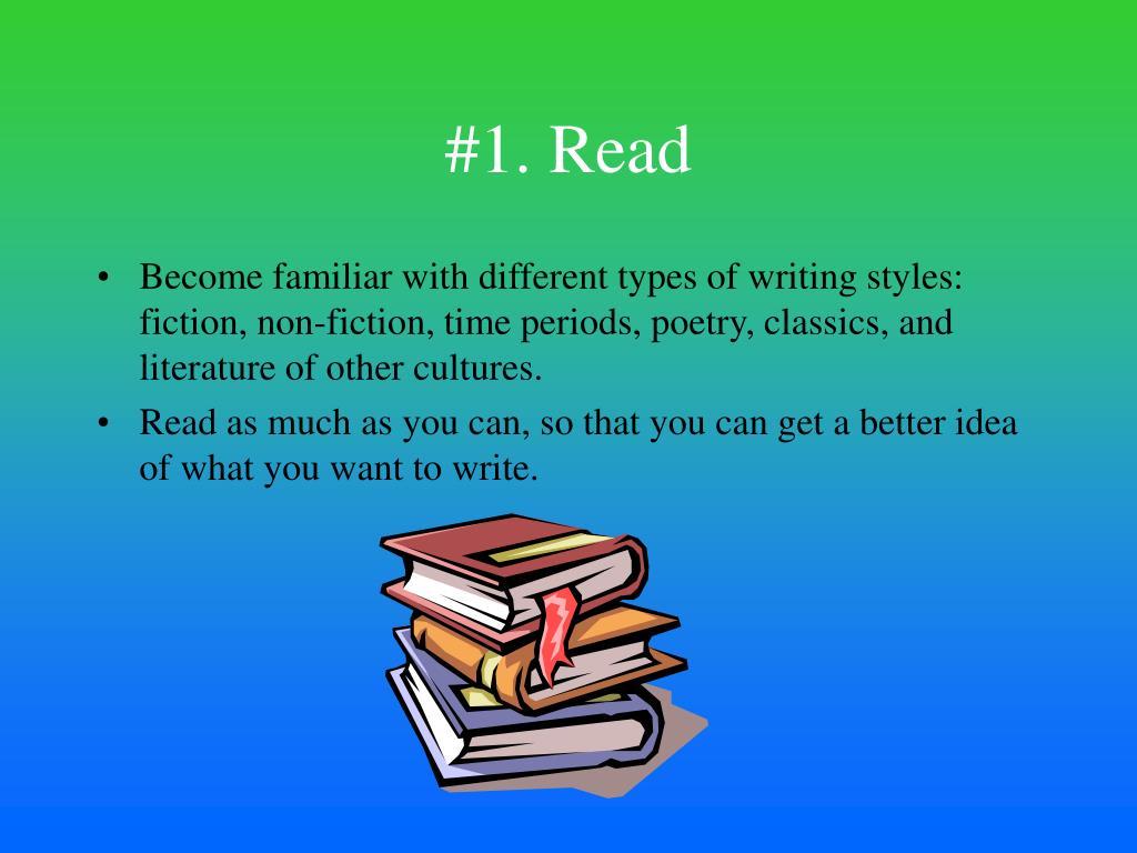 #1. Read