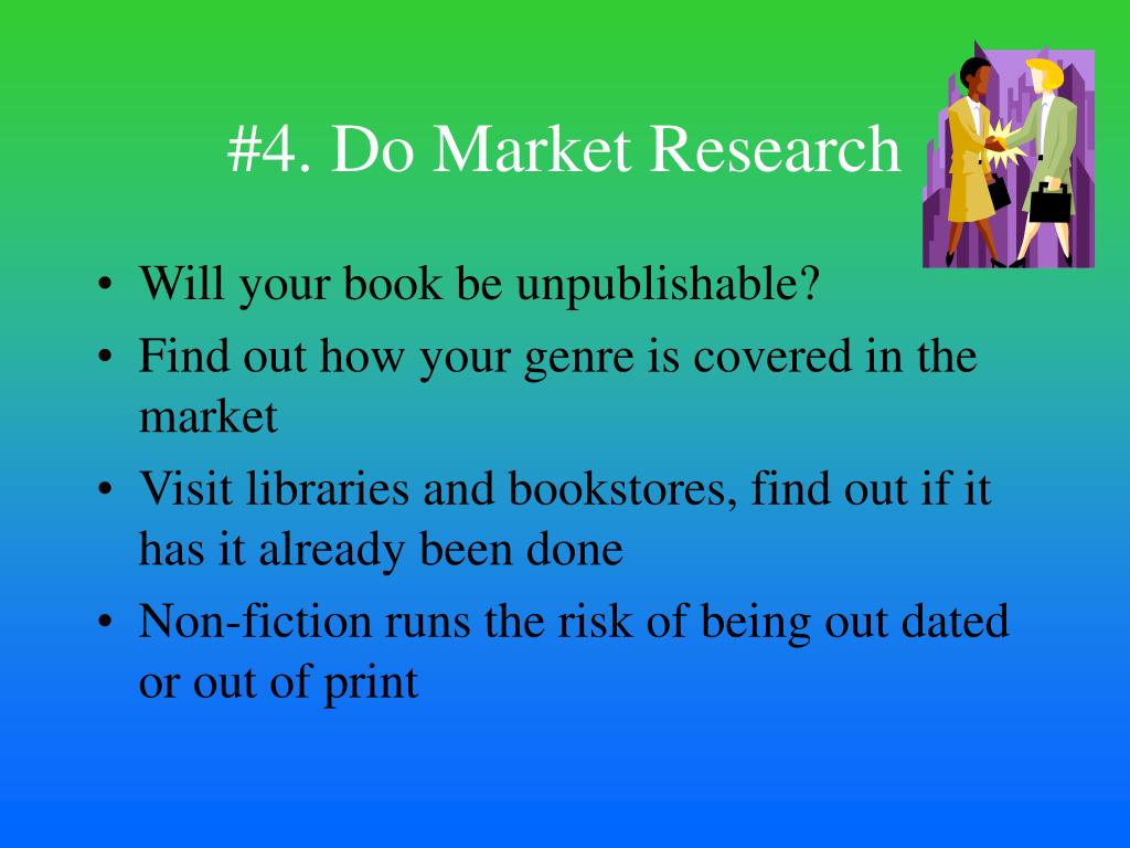 #4. Do Market Research