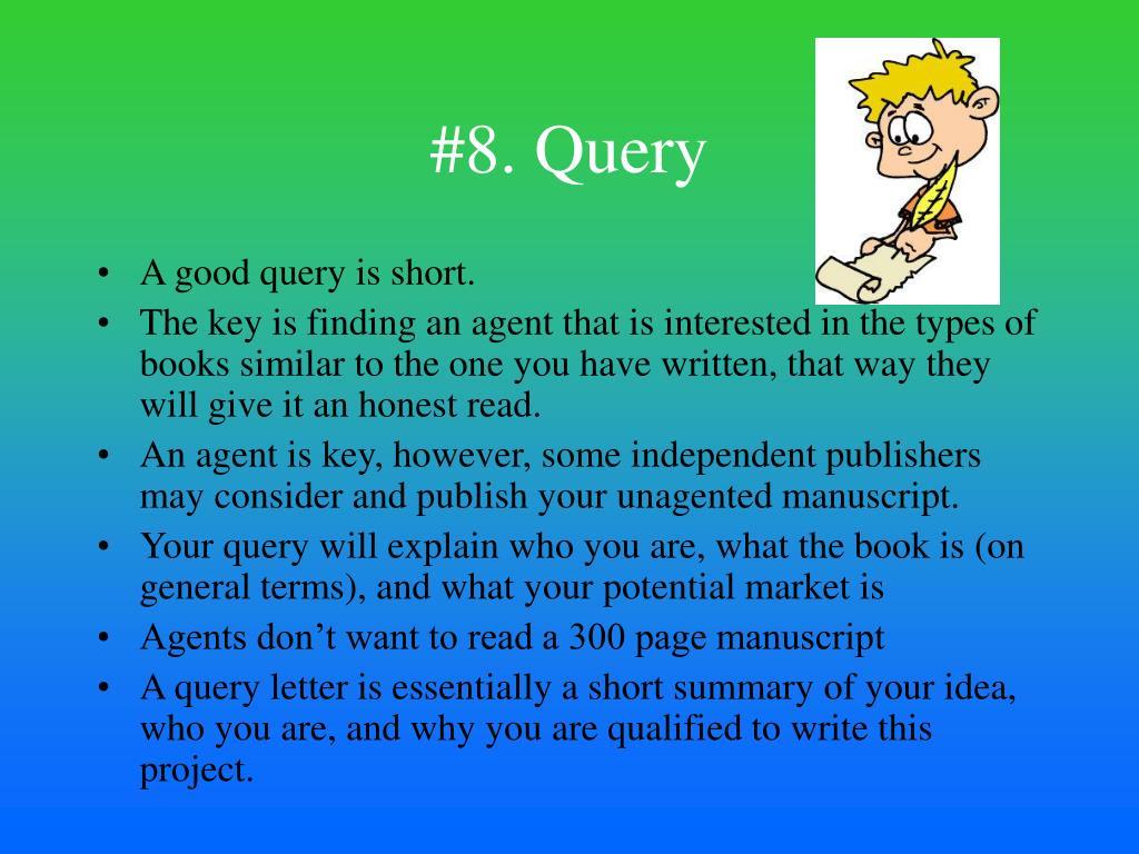 #8. Query