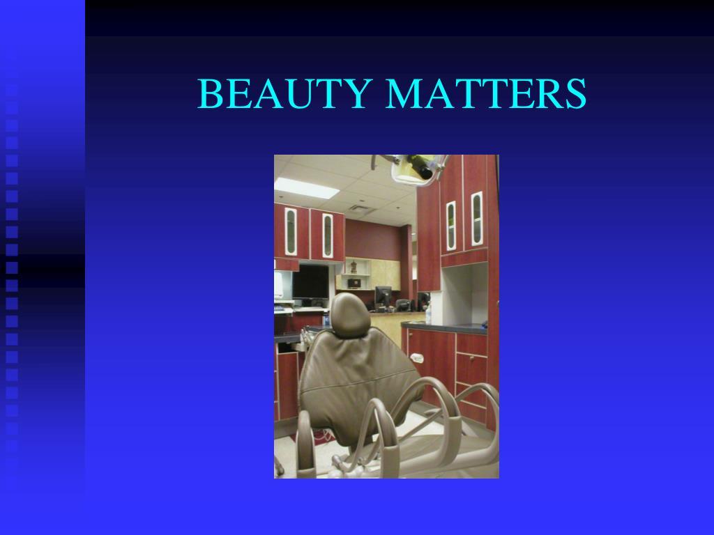 BEAUTY MATTERS