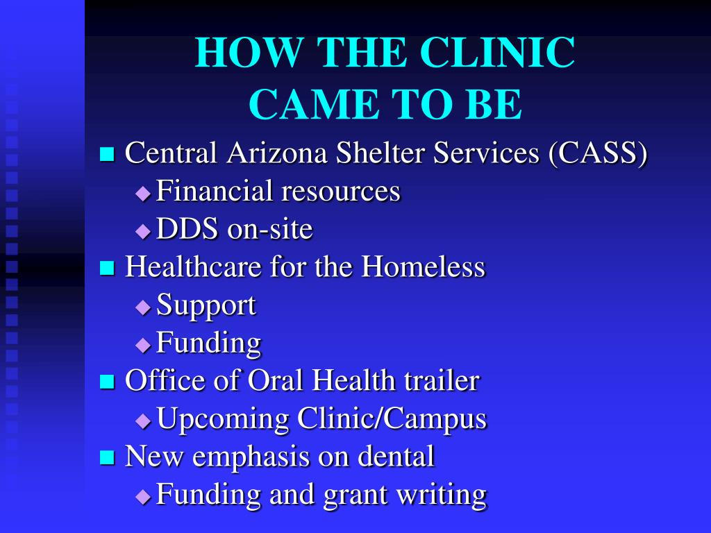 HOW THE CLINIC