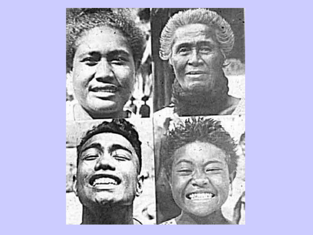 Primitive South Pacific Women