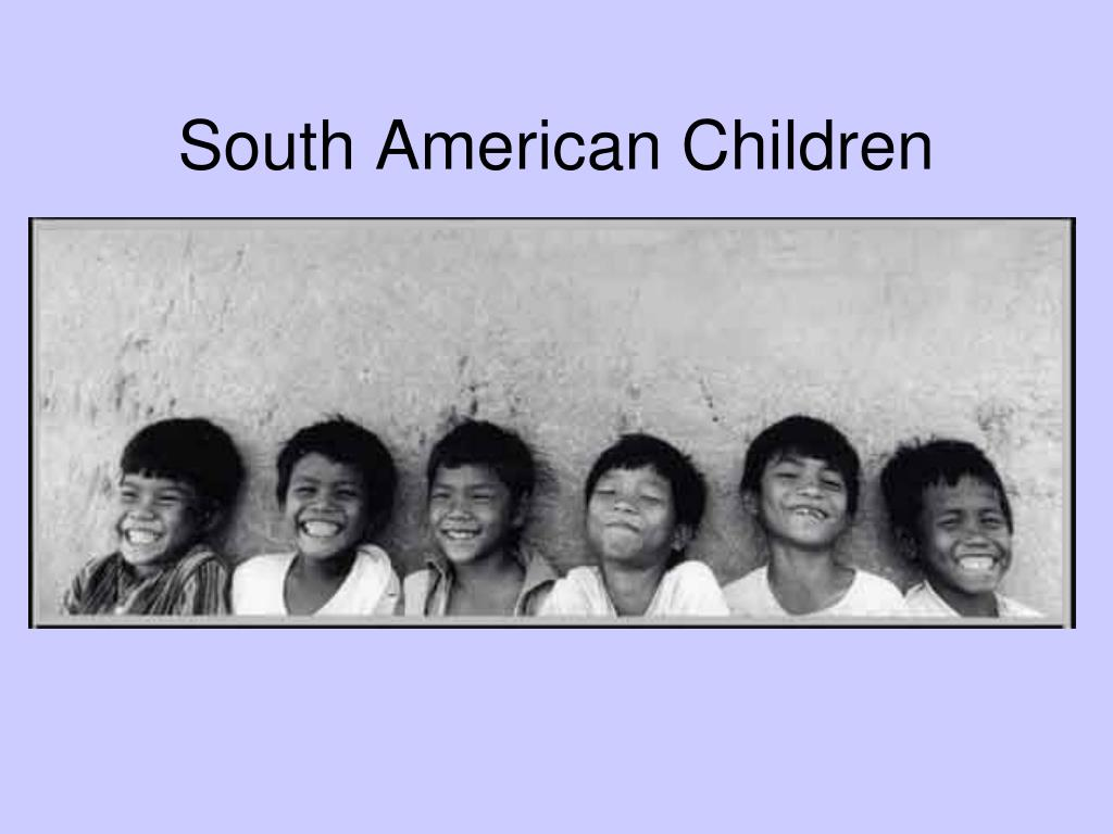 South American Children