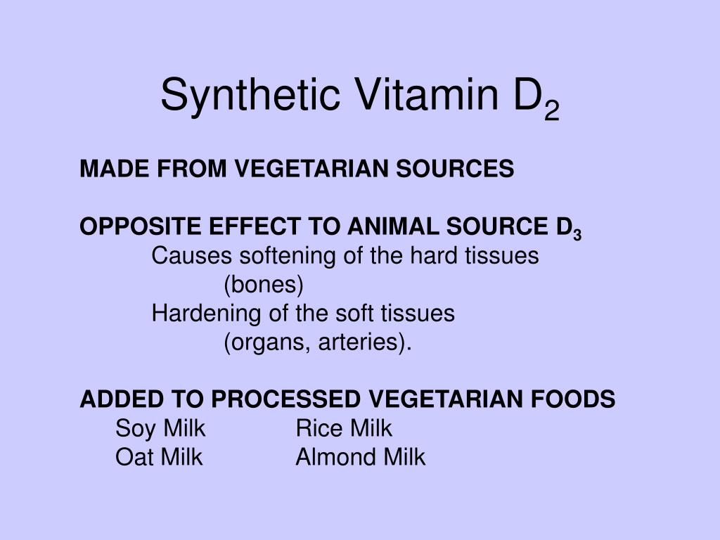 Synthetic Vitamin D