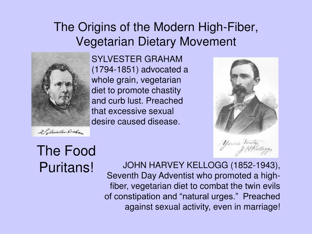 The Origins of the Modern High-Fiber,