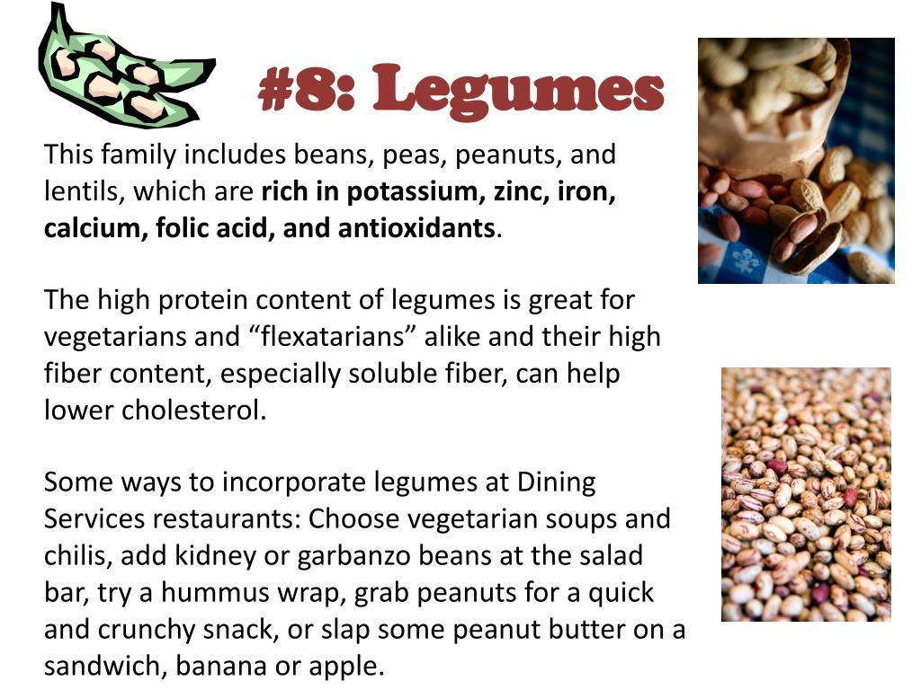 #8: Legumes