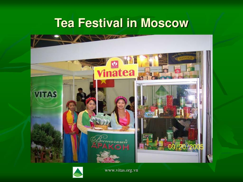 Tea Festival in Moscow