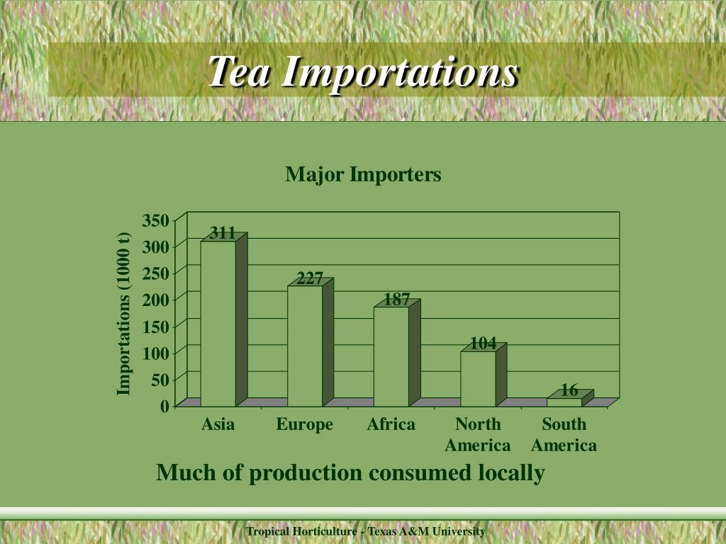 Tea Importations