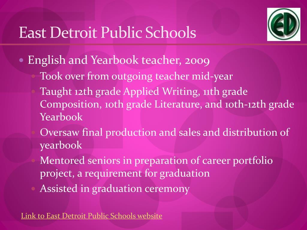 East Detroit Public Schools