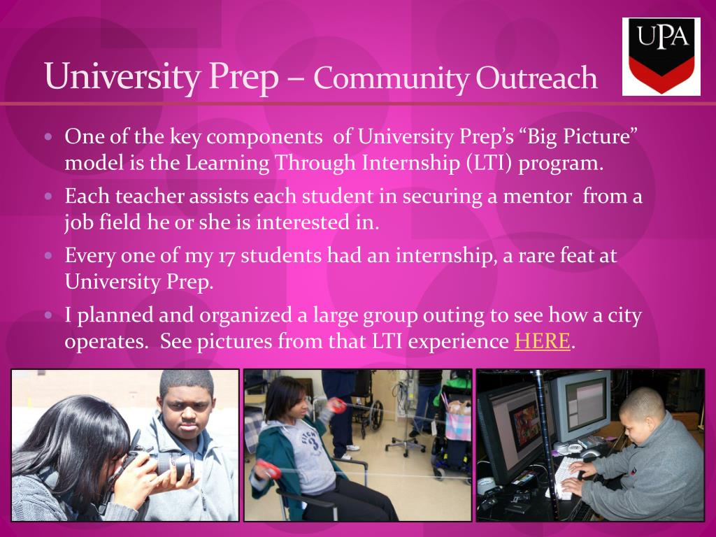 University Prep –