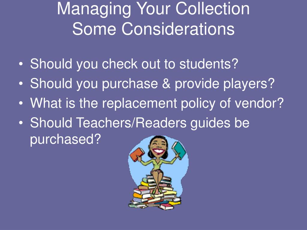 Managing Your Collection