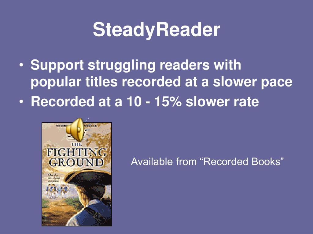 SteadyReader